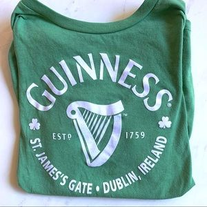 Guinness Beer Green Graphic Tee